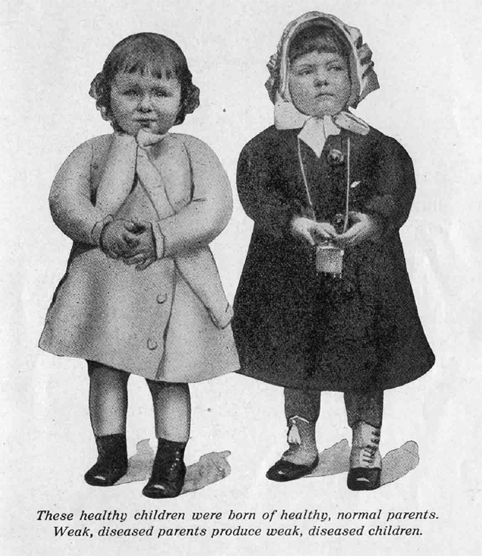 Indiana eugenics society poster