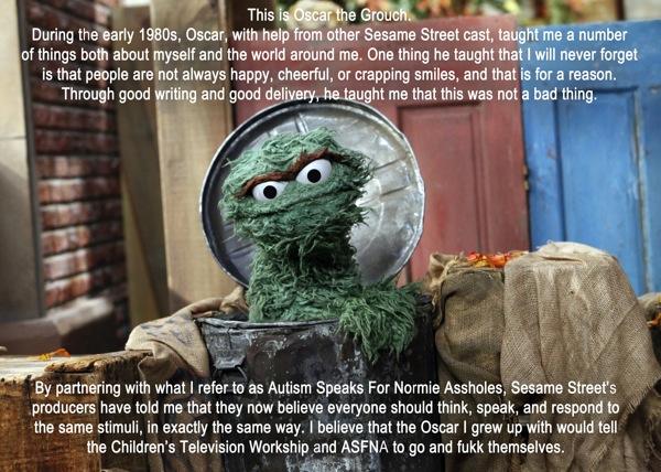 Oscar text notlike copy