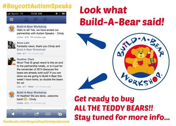 Build a bear announcement